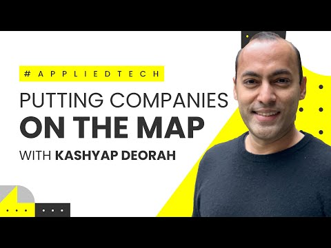 Putting Companies on the Map | Kashyap Deorah from HyperTrack