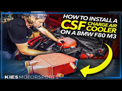 HOW TO INSTALL a CSF CHARGE AIR COOLER on a BMW F80 M3