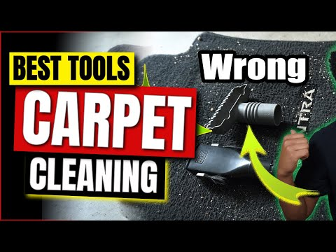 Car Carpet Cleaning: How To Properly  Vacuum Your Floor Mats (Fast)