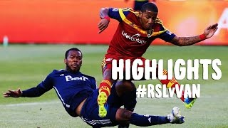 HIGHLIGHTS: Real Salt Lake vs Vancouver Whitecaps FC | July 19, 2014
