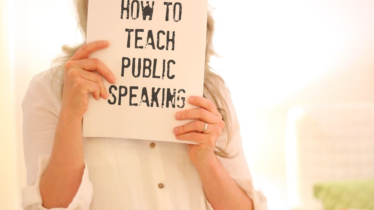 How to Teach Public Speaking picture