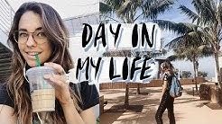 DAY IN MY LIFE AS A COLLEGE STUDENT in California