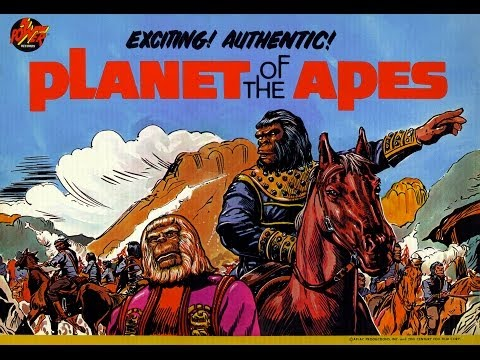Planet of the Apes - Power Records Listen and Read Along (1974)