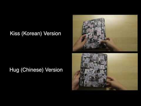 [UNBOXING] Differences of EXO 1st Album - XOXO Repackage (Hug & Kiss Version)