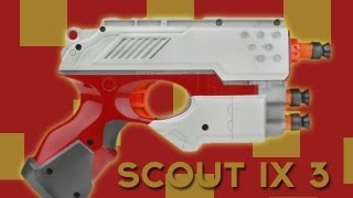 Nerf Reviews - Scout IX-3 Pistols