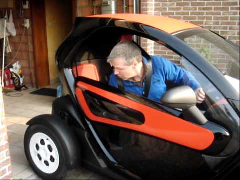 Renault Twizy, a funny, but useful electric car.