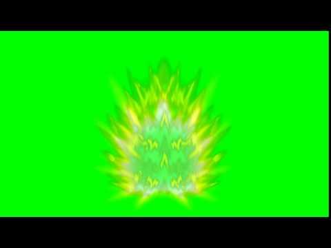 DBZ Super Saiyan Aura Green Screen Effect (CREDIT TO JMKREBS30)