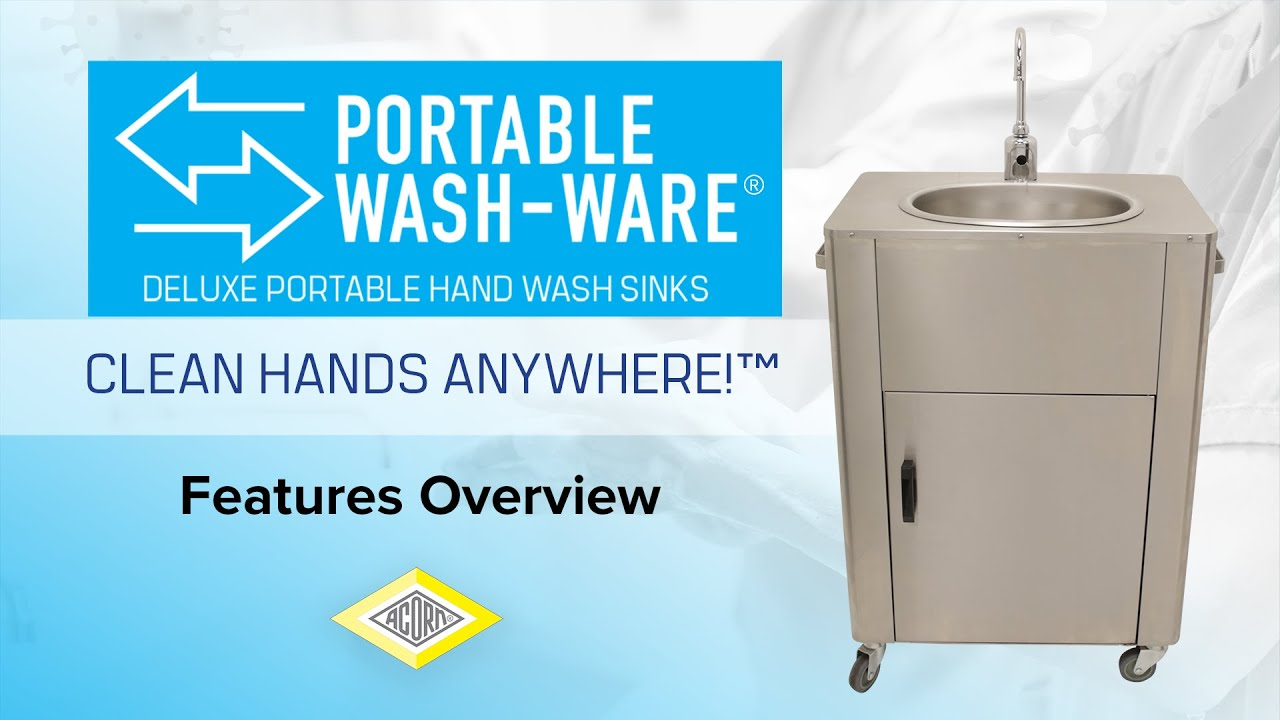 wash ware hand washing station