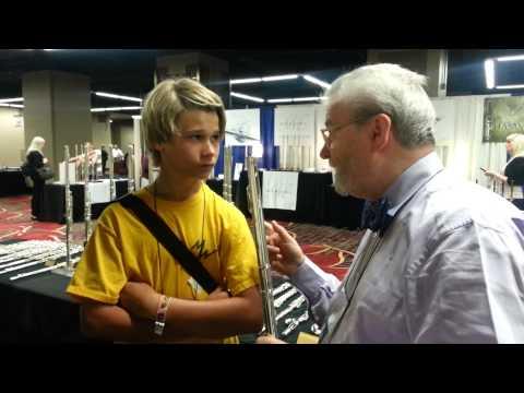 Sir James Galway teaches Blake Snyder