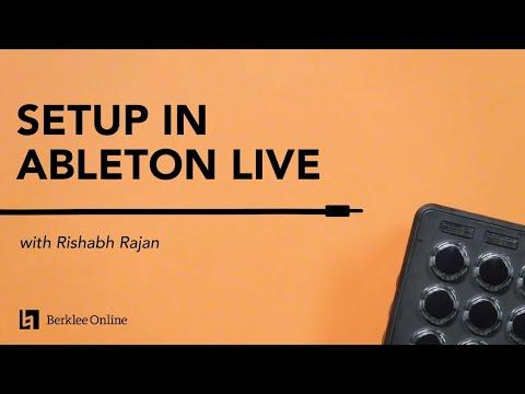 Ableton Drum Rack Setup   Electronic Music Performance Techniques 4/23