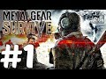 Metal Gear Survive - Gameplay Walkthrough Part 1 - Open Beta (PS4 PRO)