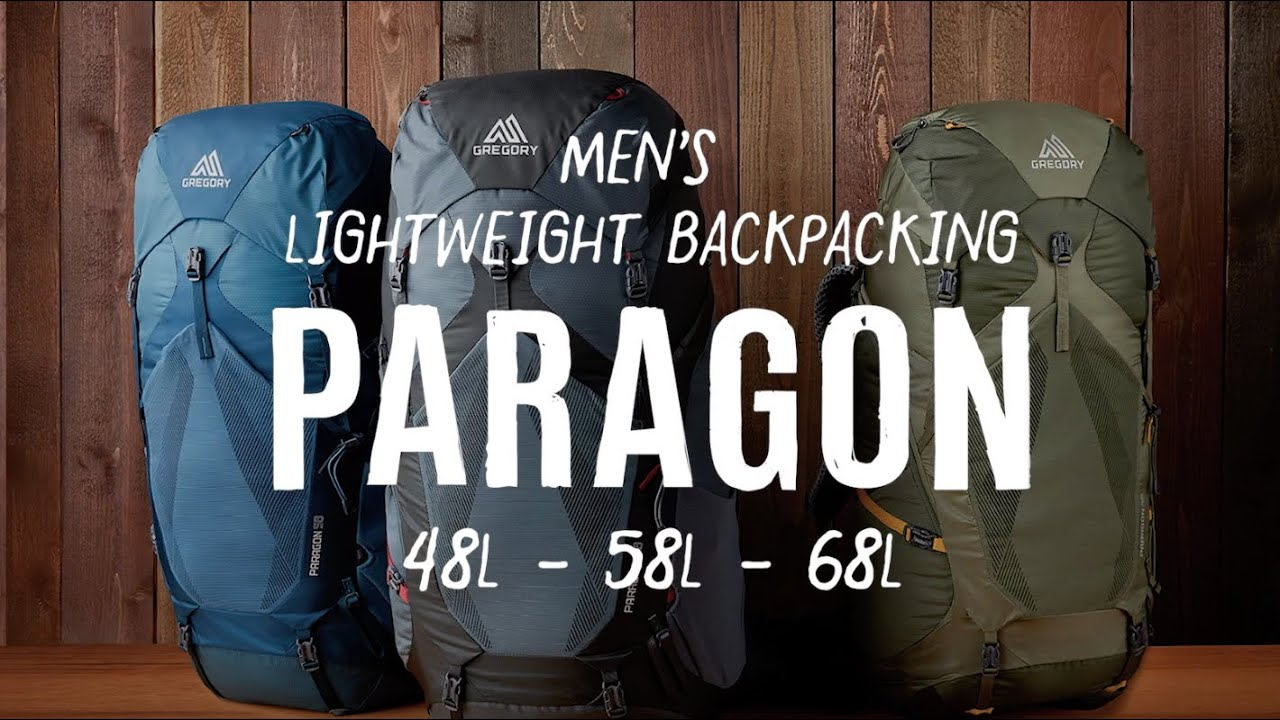 Paragon Lightweight Backpacking Men S Gregory Packs Youtube