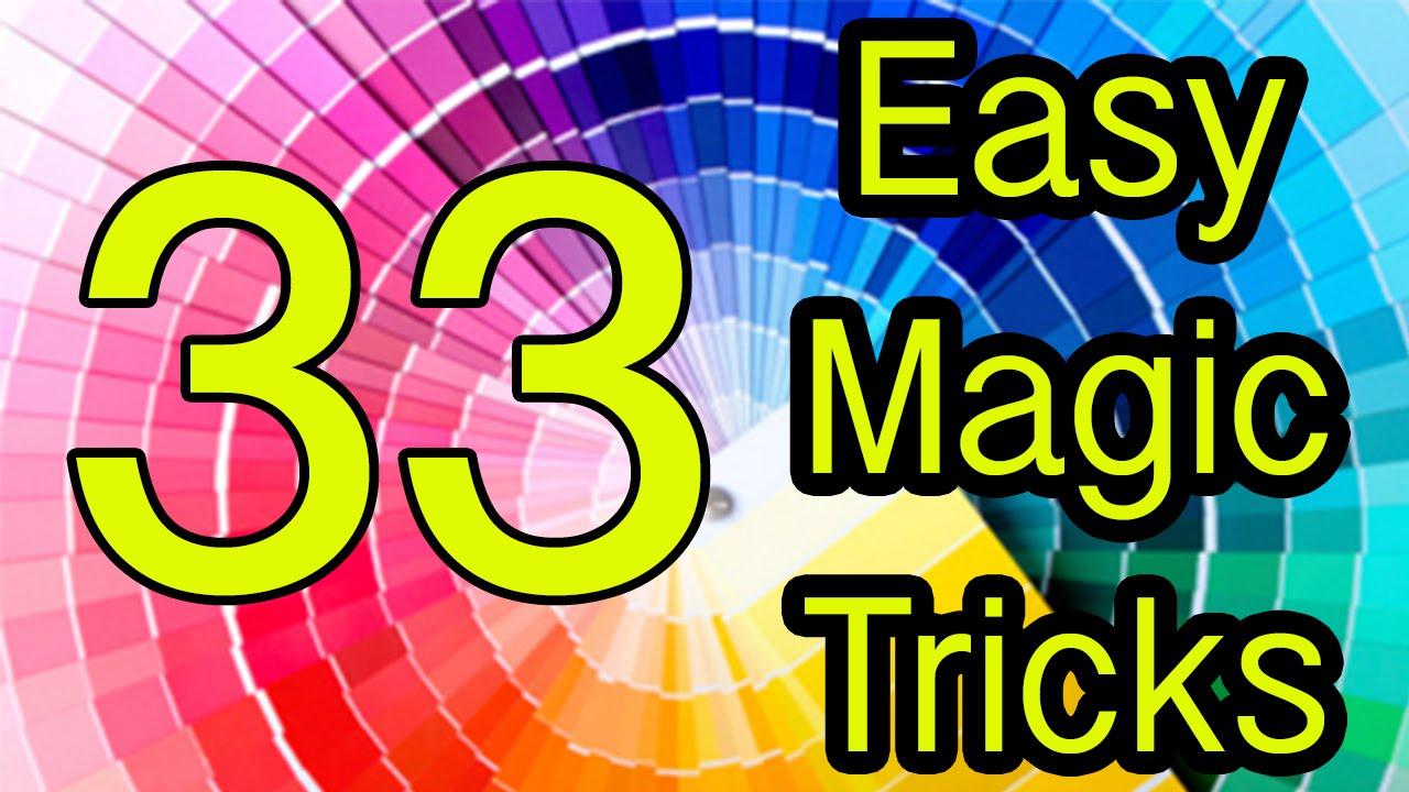 Easy magic tricks Revealed 33 Tutorial - YouTube