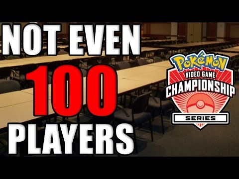 NOT EVEN 100 PLAYERS GO TO POKEMON VGC REGIONALS