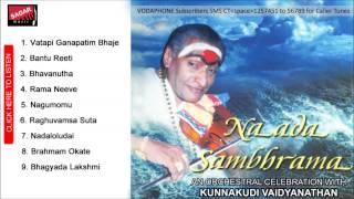 Naada Sambhrama.  Vatapi Ganapatim Bhaje. Kunnakudi Vaidyanathan.