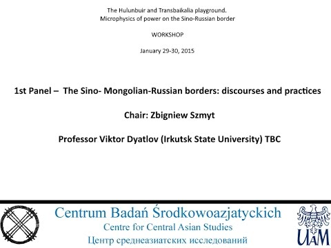 Professor Viktor Dyatlov 1st Panel –  The Sino-Mongolian-Russian borders (RU)