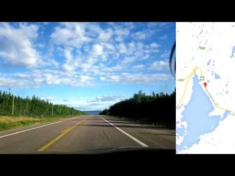 12 days travel from Toronto to St John's Newfoundland - Eastern Canada