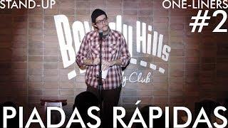 Testando Piadas Rápidas / One-liners #2 // Stand-Up Comedy - Daniel Pinheiro