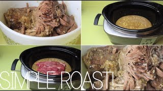 Super Simple Pot Roast! ☠ Recipe + Tutorial