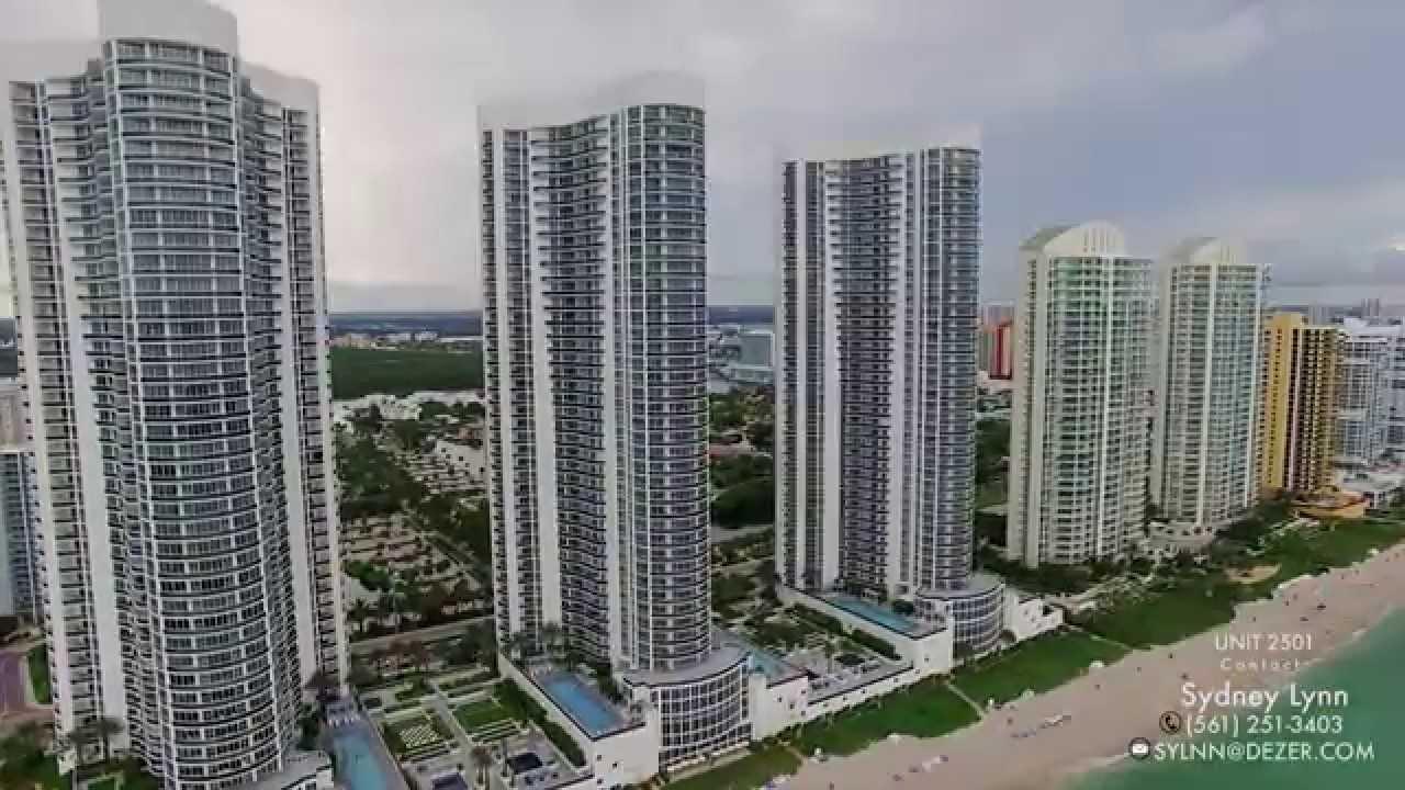 Trump Tower Sunny Isles Condo For Sale In Miami Youtube