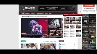 видео Шаблон News Portal для WordPress