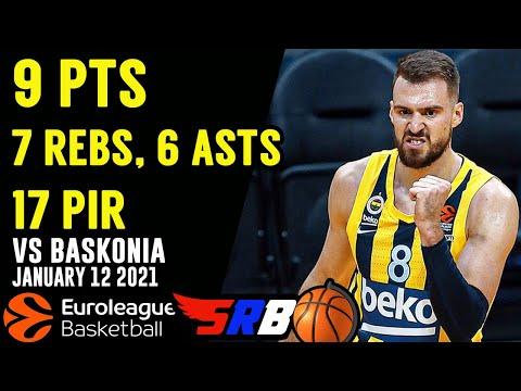 MARKO GUDURIC 9 points, 7 rebs, 6 asts | Fenerbahce - Baskonia |  Highlights | 1