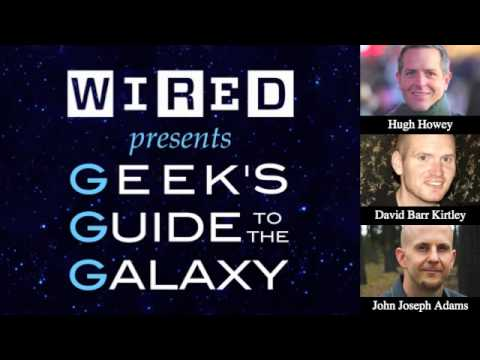 Hugh Howey Interview - Geek's Guide To The Galaxy Podcast #83