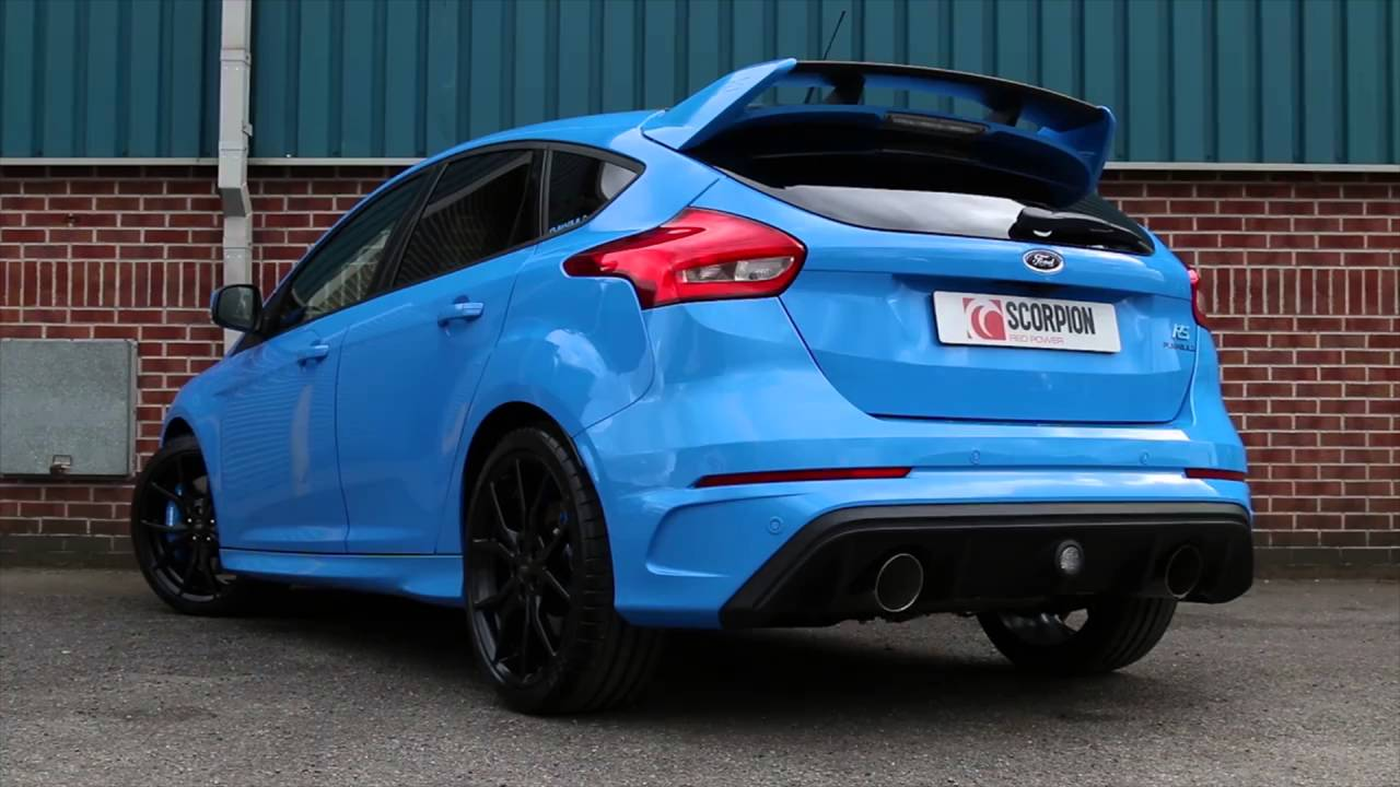 mk3 focus rs scorpion exhaust youtube. Black Bedroom Furniture Sets. Home Design Ideas