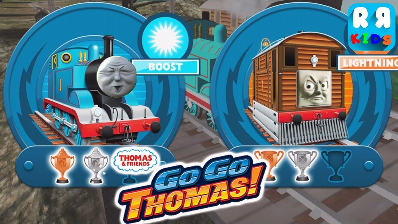 Thomas & Friends: Go Go Thomas! - Thomas vs Toby | Toby ...