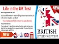Life In the UK Test 2020 | British Citizenship Test | Practice Test #6 With Voice Instruction