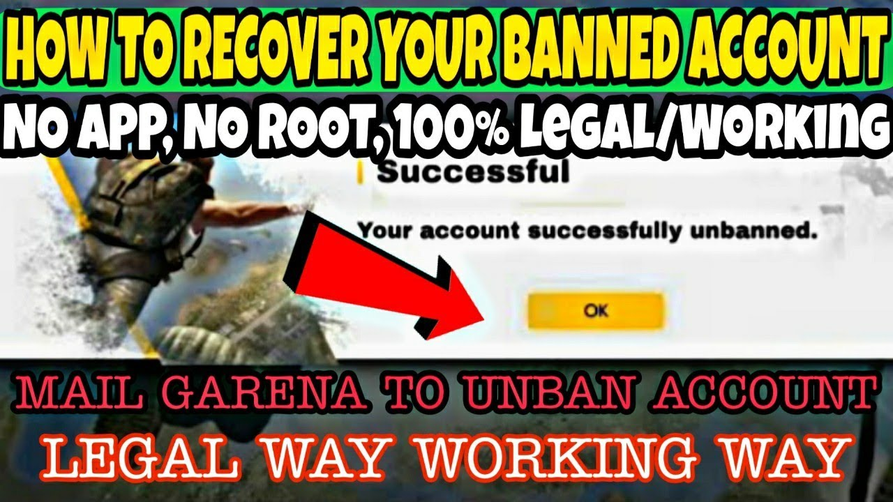 How To Unban Free Fire Banned Account | Free Fire Banned Account Ko Unban  Kaise Kare