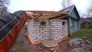 Крыша для пристроя а кексы для меня