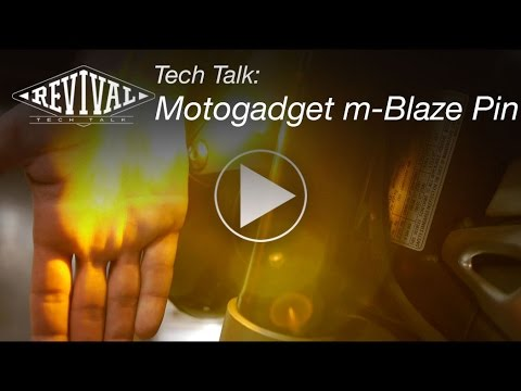 Motogadget m-Blaze Pin - Revival Cycles Tech Talk