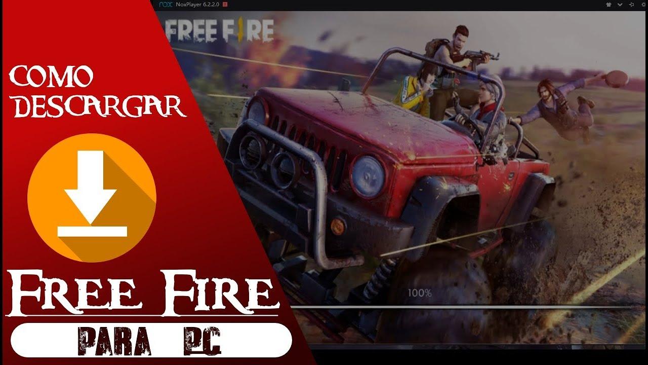 free fire descargar pc windows 10