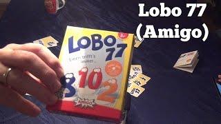 Test Lobo 77 (Amigo): Rezension und Beispielrunde von Spiele-Podcast.de