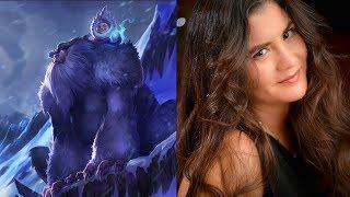 Video Nunu League of Legends Voice - Cristina Milizia Voice Over Artist download MP3, 3GP, MP4, WEBM, AVI, FLV Desember 2017
