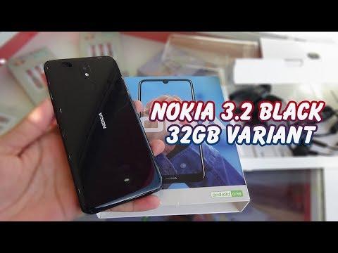 Unboxing Nokia 3.2 Black Color | 32GB Variant