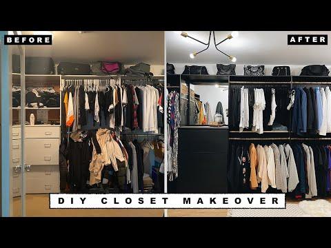 closet makeovers