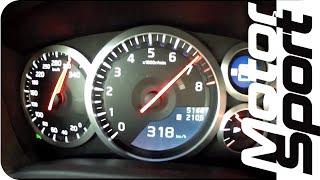 0-318 km/h : Nissan GT-R 2012 (Motorsport)