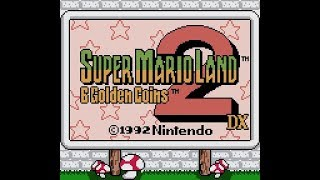 Super Mario Land 2 DX (GBC) - Longplay as Mario