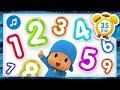 🔢 🎶 NUMBERS SONG 🎶 🔢 + Nursery Rhymes & Baby Songs [ 35 minutes ] - Pocoyo
