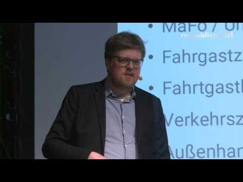 re:publica 2016 – Jonas Westphal: Mobilität dank Daten und Algorithmen besser verstehen on YouTube