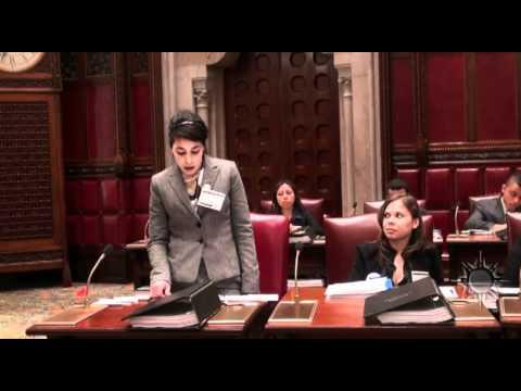 Model Senate Session 2010: Imane Elomari