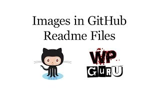 How to embed images in GitHub Readme Files