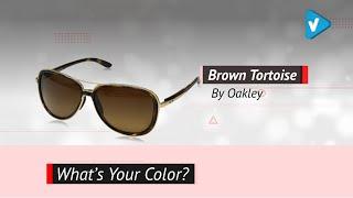 Oakley Women's Split Time Polarized Aviator Sunglasses \ 2019 Color Collection