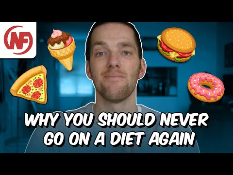 Please don't ever go on a diet again! | Nerd Fitness