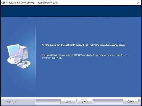 usb 2.0 video capture controller driver windows 10 64 bit