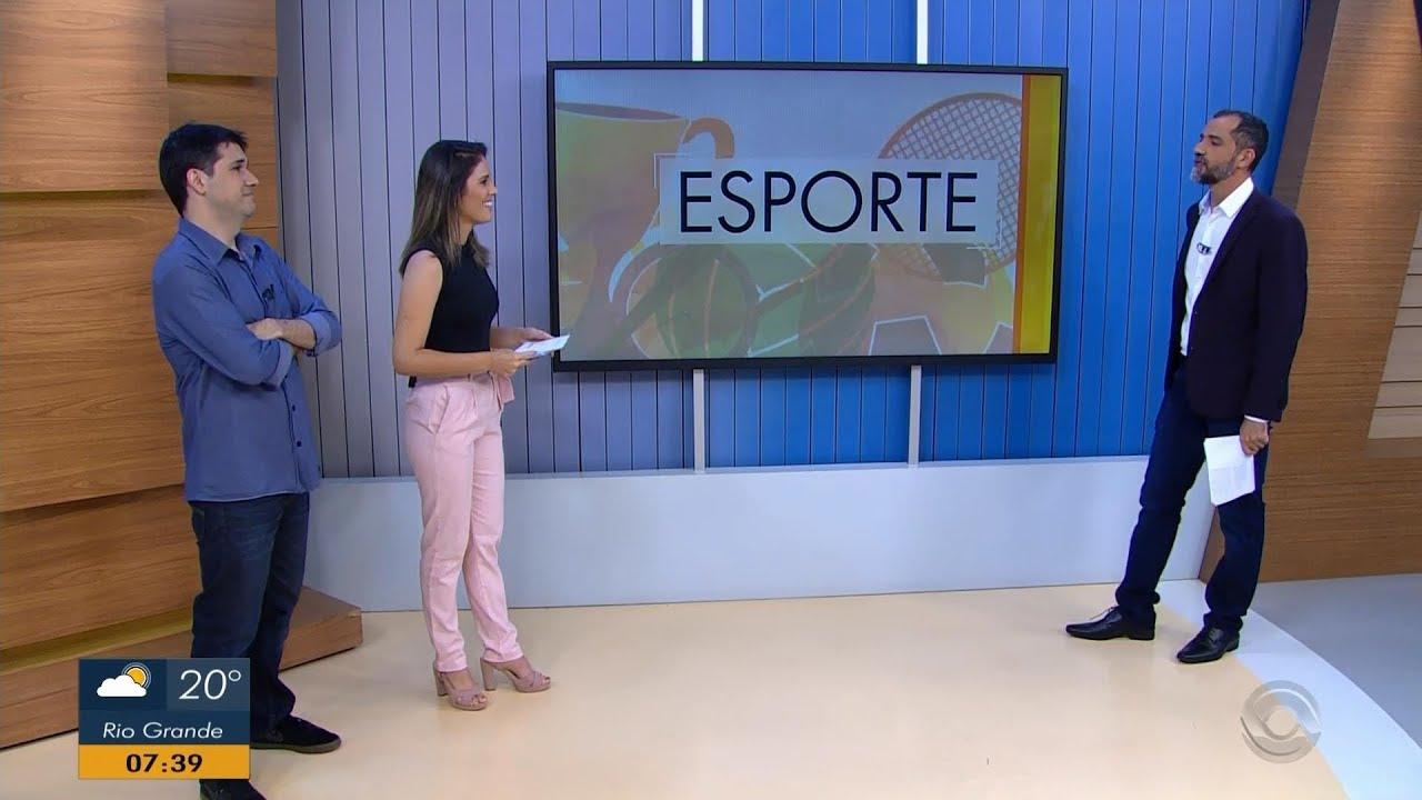 Rbs Tv Início Do Segundo Bloco Esportivo Do Bom Dia Rio Grande 21012019