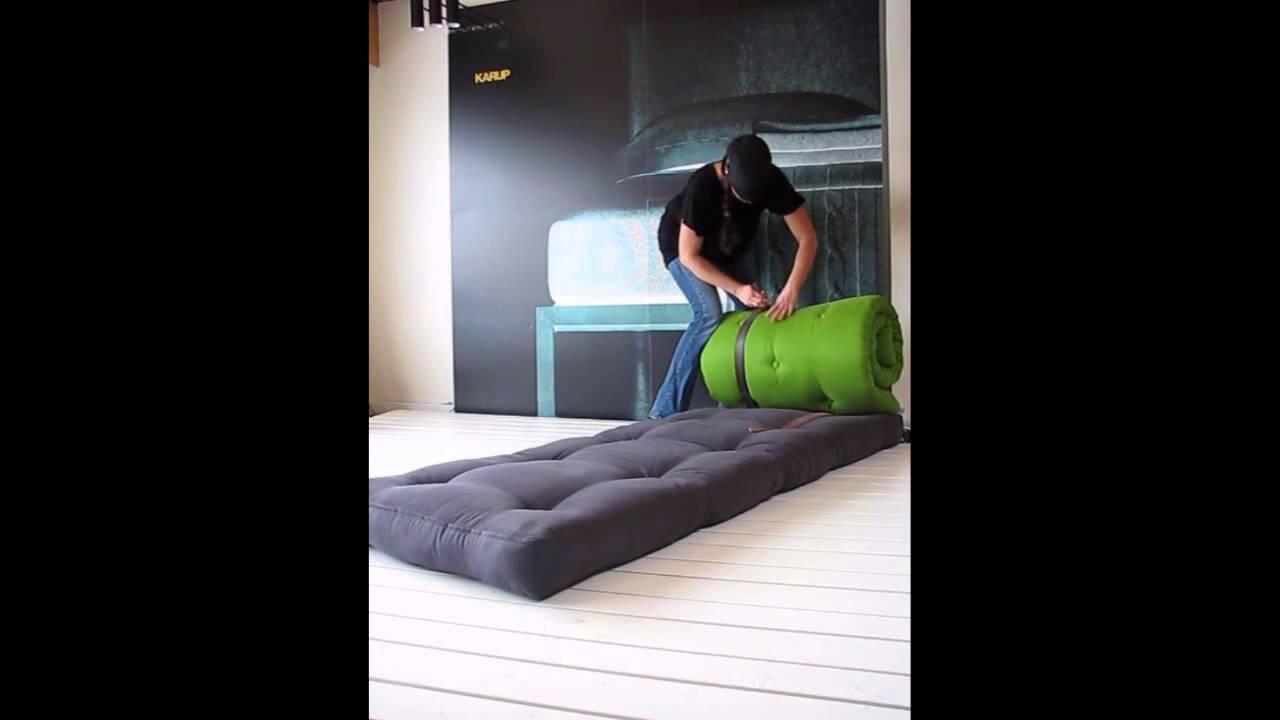 fresh futon buckle up