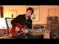 Gibson Custom Shop ES-339 Part2 Overdrive & Clean